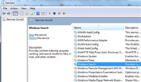 Windows Search Email Indexer Disabled Indexing Service To Enable Disable Indexing Service Below Indexing Images Frompo