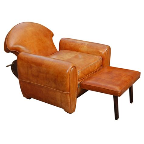 Leather Recliner Club Chair by Invidual Inventory Leather Club Chair