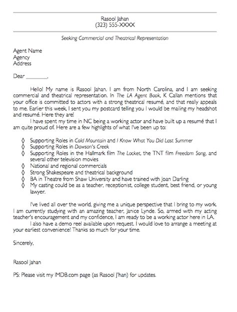 cover letter for talent agency bad cover letters cover letters bonnie gillespie