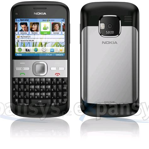 Hp Nokia Symbian larger image for b stock nokia e5 symbian smartphone