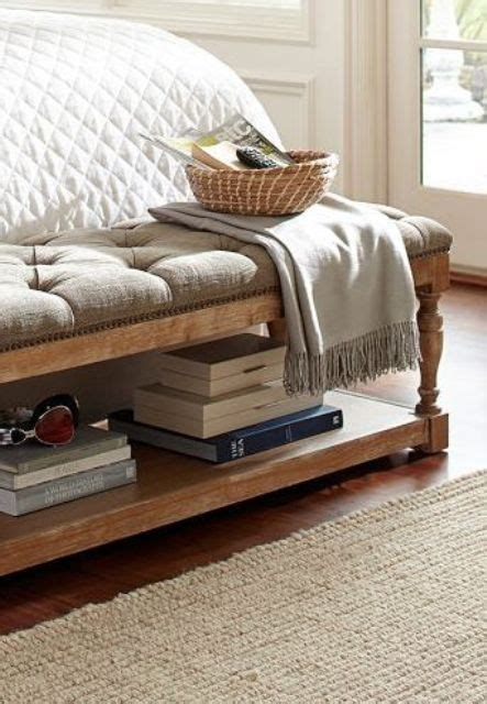 bench at the end of the bed 25 bench home decor ideas you need to try digsdigs
