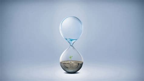 earth wallpaper changing time climate change hourglass water earth desktop wallpaper