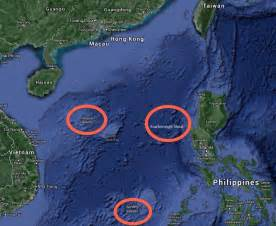 South China Sea Dispute Map by China Pledges 100 000 In Typhoon Aid Business Insider