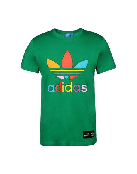 Tshirt Pharell adidas by pharrell williams t shirt in green for