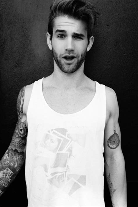 boys with gauges and tattoos 17 best images about guys with tattoos gauges on