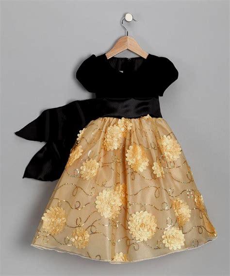 Dress Black Flower gold and black flower dresses naf dresses