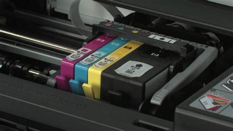 Tinta Printer Hp Officejet 6500a replacing a cartridge hp officejet 6500 all in one