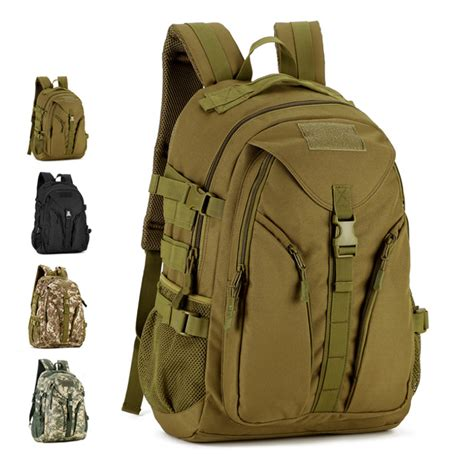 tactical laptop backpack 40l mens waterproof 3p army tactical backpack