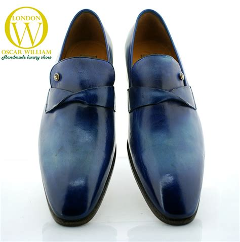 Handcrafted Italian Shoes - classic handmade loafers parisian oscar william