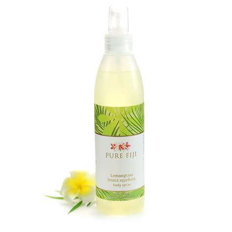 lemongrass insect repellent body spray pure fiji australia
