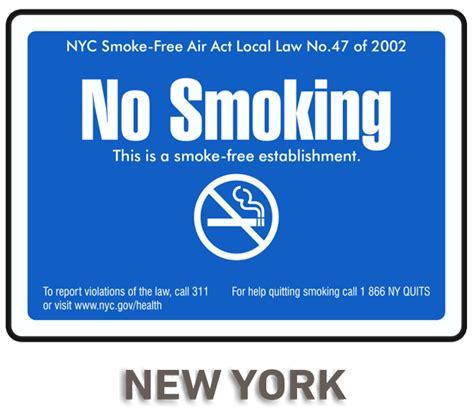 no smoking sign nyc new york no smoking sign by safetysign com r5724