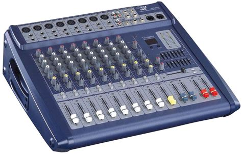 Power Mixer Audio Seven pylepro pmx808 sound and recording mixers dj