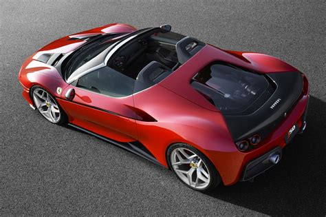 ferrari j50 rear ferrari j50 revealed ten bespoke roadsters for japan by
