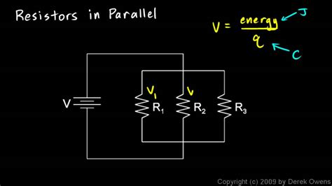 resistors physics physics 13 4 2b resistors in parallel