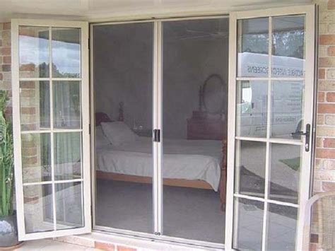 outswing patio doors with retractable screens outswing exterior door with screen right outswing
