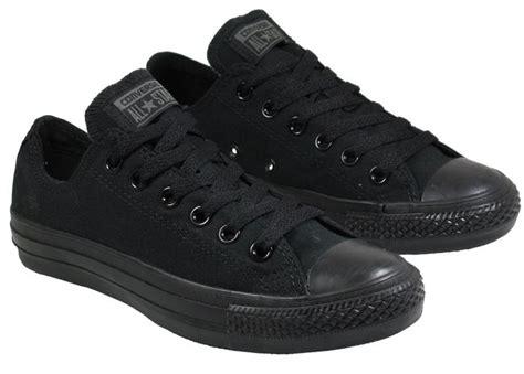 converse womens shoes ox low black canvas landau store