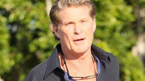 Hasselhoff Battles Boozing Reports by The Rock David Hasselhoff Mucki Battle Bei Quot Baywatch