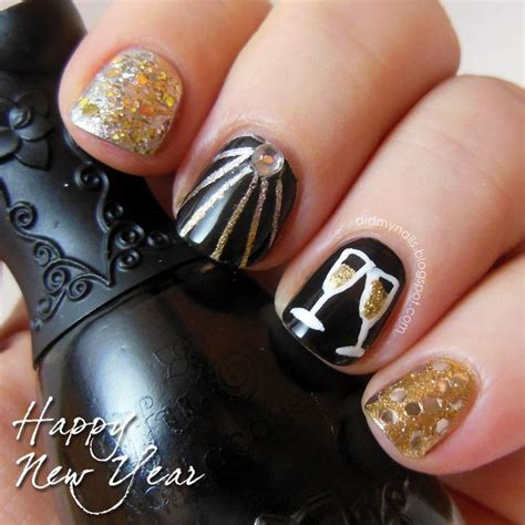 new years nail color best 25 new years nails ideas on china glaze glitter nail and new years