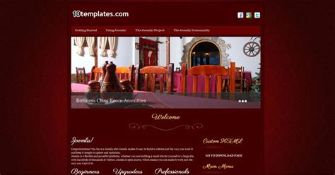 joomla template hotel free download free joomla 2 5 template hotel free joomla templates
