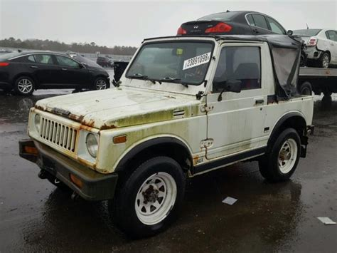 suzuki jimny sj410 1984 suzuki jimny sj410 photos salvage car auction