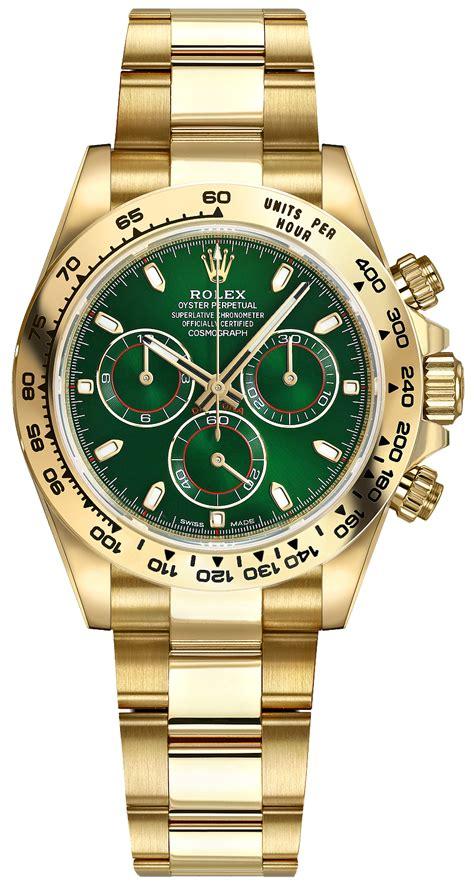 Rolex Daytona Gold 116508 grnso rolex daytona s