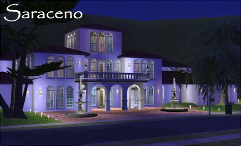Spanish Mediterranean Style Homes mod the sims saraceno luxury mediterranean villa 3 br