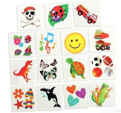 removable tattoos for kids wholesale hotsale water transfer tattoos temporary