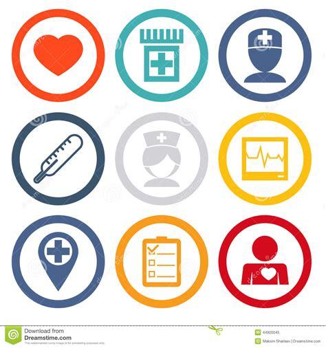 iconos de pharma y salud vector de stock 10920725 los iconos aislados fijaron asistencia m 233 dica y salud