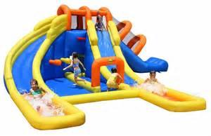 Best Backyard Inflatable Water Slides Cool Castle Pool Float Backyard Design Ideas