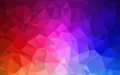 hd polygon wallpapers wallpapersafari