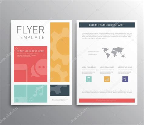 brochure design templates stock vector 169 mauro fabbro