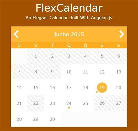 angular script template creating a calendar with angular js