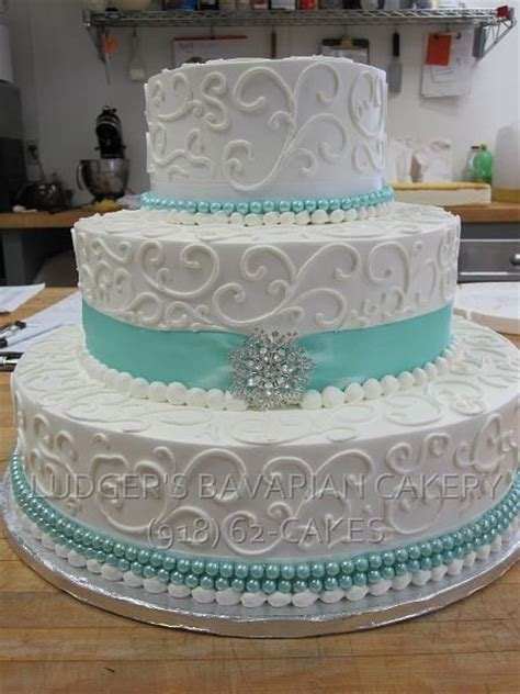 Teal Wedding Cake   CAKES ~ Formal   Wedding cakes