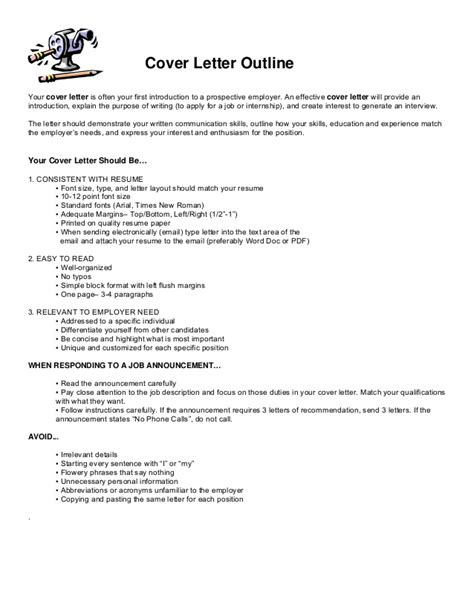how to create an effective cover letter writing a cover letter