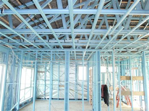 drywall metal stud and track gypsum board wall partition