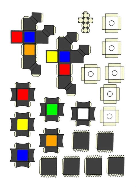 How To Make A Paper Rubix Cube - paper rubik s cube part 3 by michael123425 on deviantart