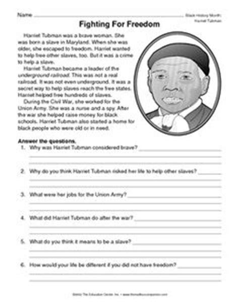 harriet tubman biography for third graders quickplan lesson idea did you know harriet tubman day is