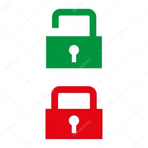 image cadenas ouvert ic 244 ne de cadenas ouvert et ferm 233 vert et rouge image