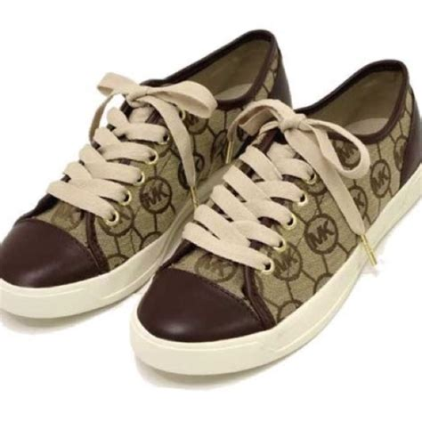 michael kors tennis shoes 33 michael kors shoes michael kors logo print