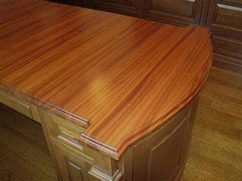 Wood Countertop by Mahogany Wood Countertops For A Desk Top In Philadelphia Pa