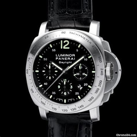 Jam Panerai Daylight Black panerai pam 250 luminor daylight chronograph automatic for