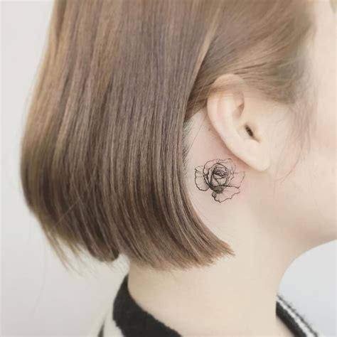 compass tattoo ear 356 best images about body art on pinterest compass
