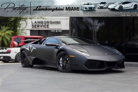 Lamborghini Superveloce For Sale Lamborghini Murcielago For Sale