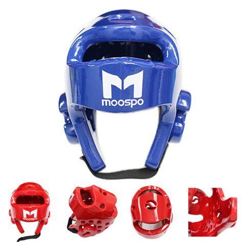 gear design helm taekwondo taekwondo tkd headgear blue red head protector sparring