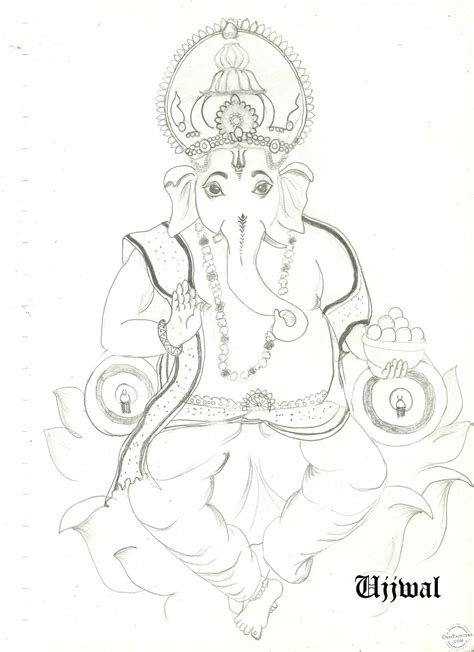 Ganesh Ji Sketches by Ganesh Ji Drawing Studio Design Gallery Best Design