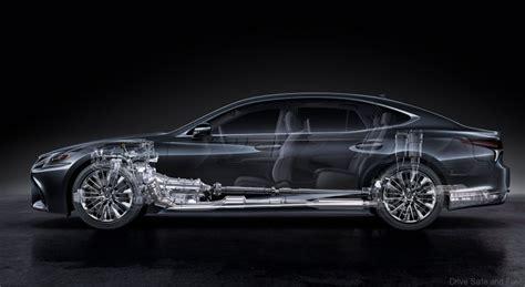 lexus launches all new ls luxury sedan drive