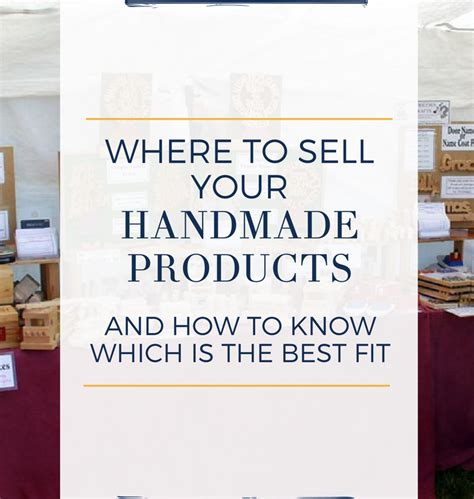 How To Sell Handmade Products - home handmade is better