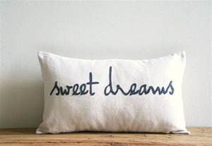 sweet dreams decorative pillow cover 12 x 20