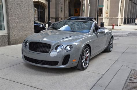 gold bentley convertible 2012 bentley continental supersports convertible isr
