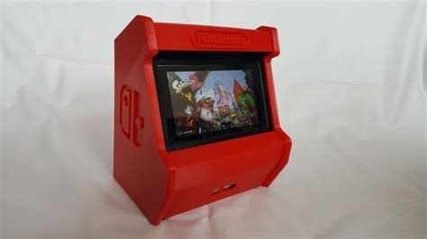 Nintendo Switch 3d Printed Arcade Cabinet Pic 3 Htxt Africa Nintendo Switch Arcade Cabinet Template